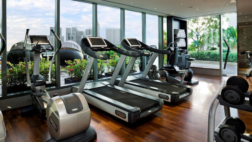 The Fullerton Bay Hotel Gym