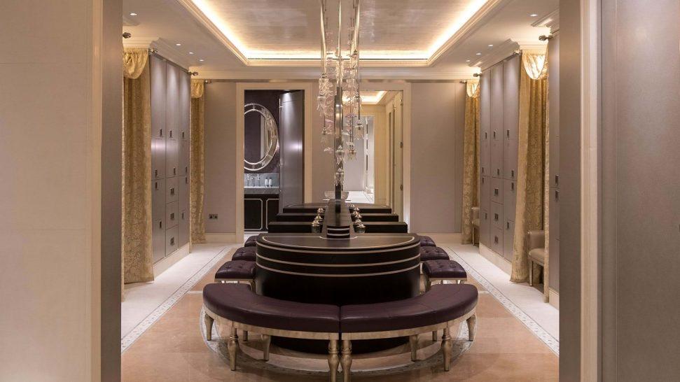 The Lanesborough London Spa Changing Room