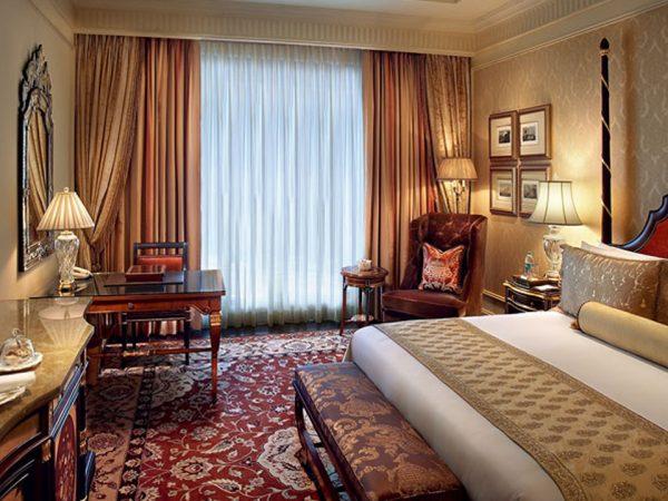 The Leela Palace New Delhi Grande Deluxe Room