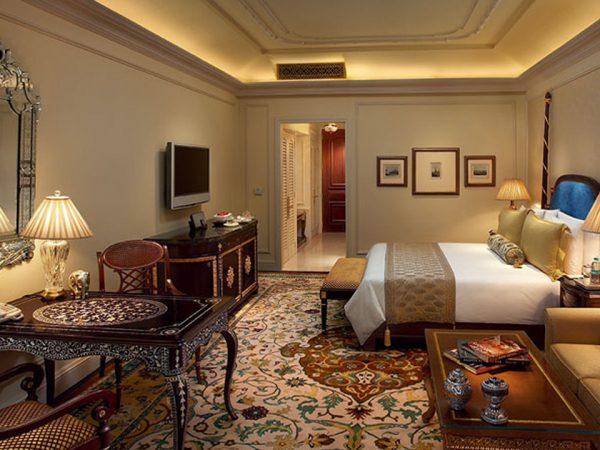 The Leela Palace New Delhi Royal Club Room