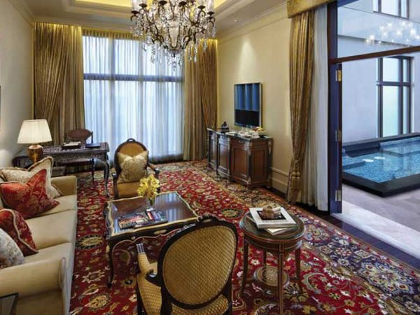 The Leela Palace New Delhi Royal Suite with Plunge Pool