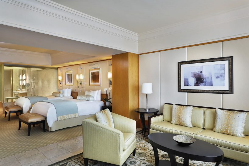 The Ritz Carlton Dubai International Financial Centre Junior Suite