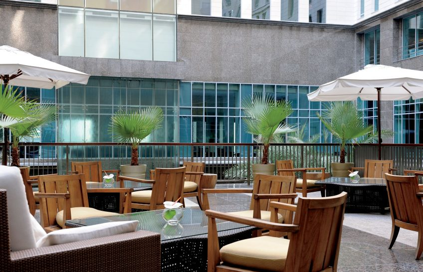 The Ritz Carlton Dubai International Financial Centre Lobby Lounge And Terrace