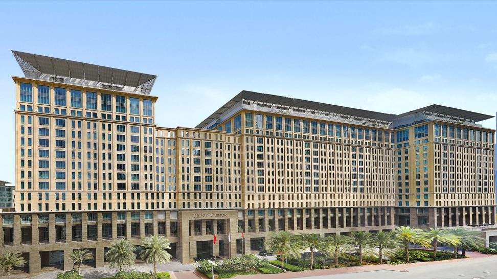 The Ritz Carlton Dubai International Financial Front