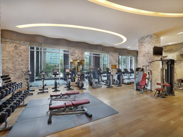 The Ritz Carlton Dubai International Financial Gym