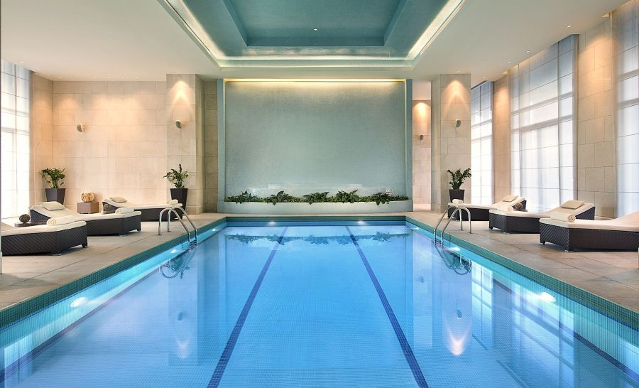 The Ritz Carlton Dubai International Financial Pool