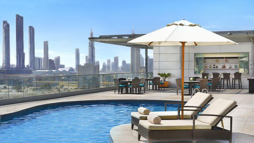 The Ritz Carlton Dubai International Financial Pool View