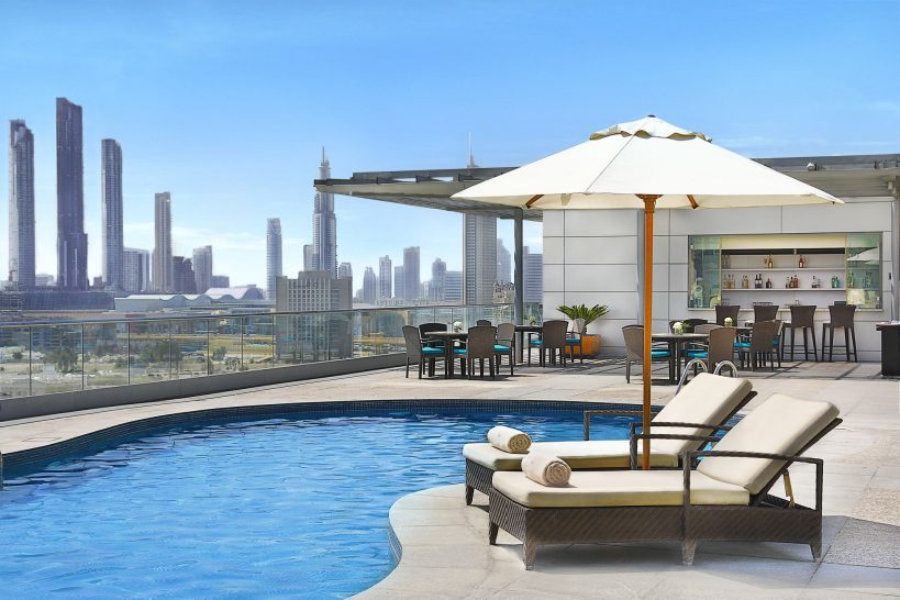 The Ritz Carlton Dubai International Financial Pool View
