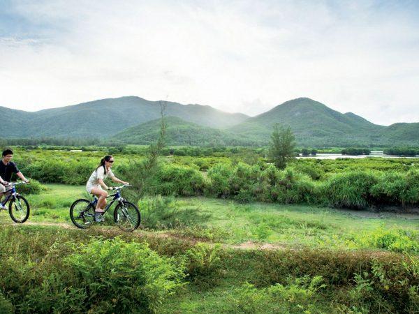 The Ritz Carlton Sanya Bicycle Riding