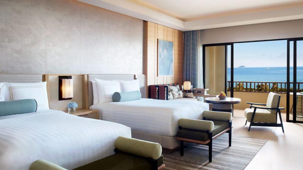 The Ritz Carlton Sanya Club Ocean View Room