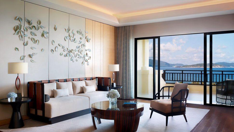 The Ritz Carlton Sanya Ocean View Suite