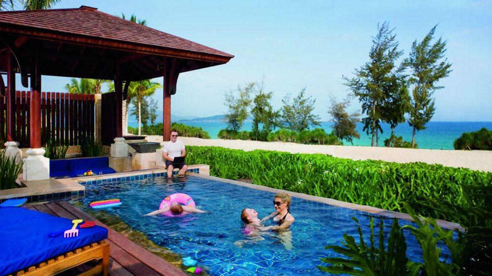 The Ritz Carlton Sanya pool 2 bedroom oceanfront villa