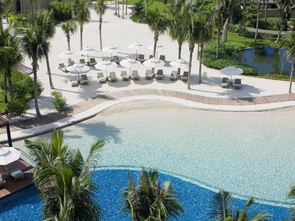 The Ritz Carlton Sanya Top View