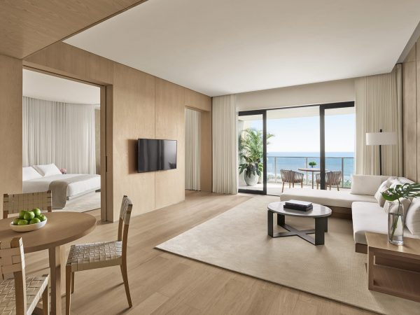 The Sanya EDITION Ocean Front Loft Suite