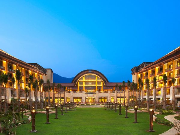 The St. Regis Sanya Yalong Bay Resort Exterior