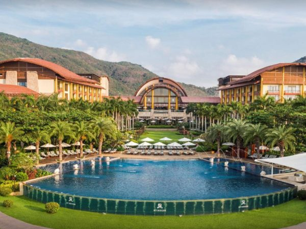 The St. Regis Sanya Yalong Bay Resort Pool