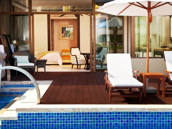 The St. Regis Sanya Yalong Bay Resort Pool Villa 1 Bedroom Villa, 1 King, Poolside view, Pool access, Private pool