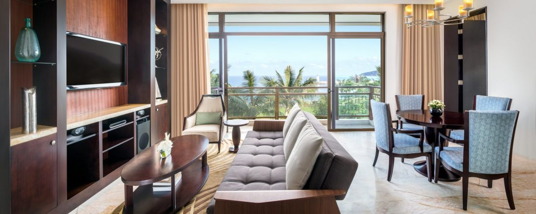 The St. Regis Sanya Yalong Bay Resort St. Regis Suite 1 Bedroom Suite, 1 King, Garden view, Balcony