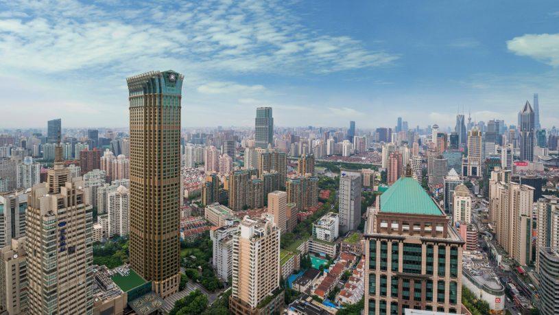 The St. Regis Shanghai Jingan Exterior Day Landscape