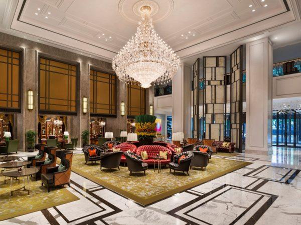 The St. Regis Shanghai Jingan Lobby