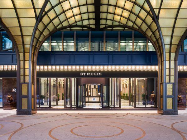 The St. Regis Shanghai Jingan Main Entrance
