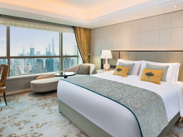 The St. Regis Shanghai Jingan One Bedroom Apartment Deluxe