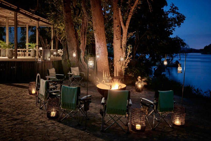 Victoria Falls Island Lodge Dining