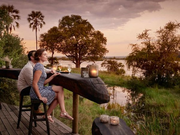Victoria Falls River Lodge Bar