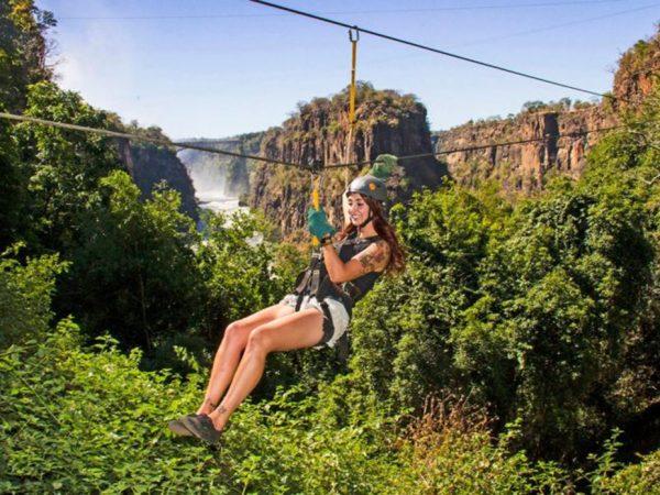 Victoria Falls River Lodge Canopy Tours