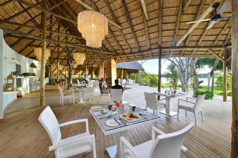 Victoria Falls River Lodge Dining