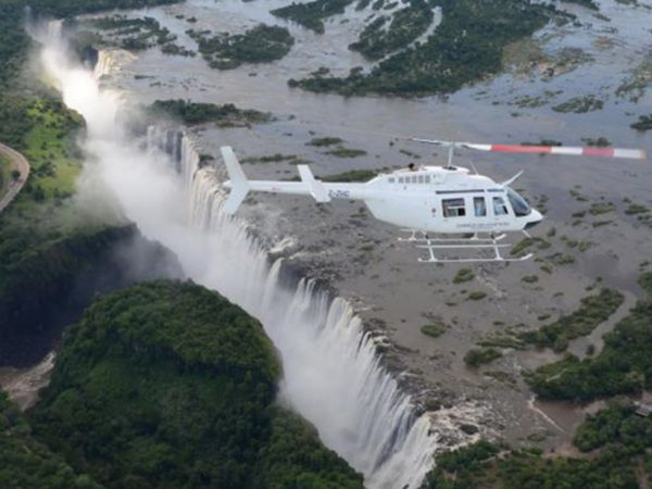 Victoria Falls River Lodge Helicopter Flights