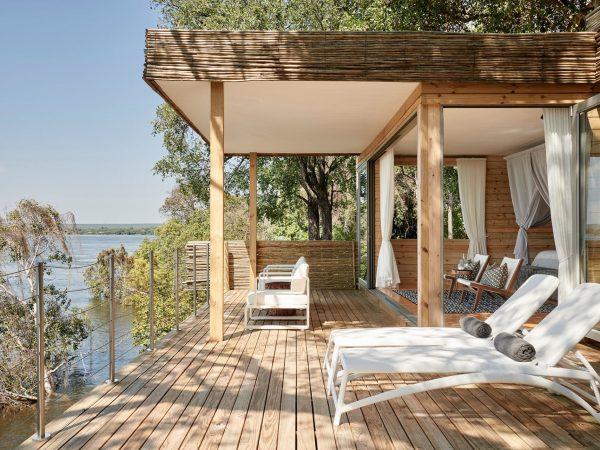 Victoria Falls River Lodge Island Treehouse