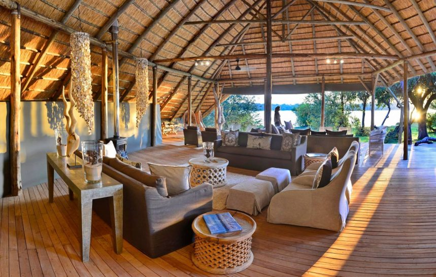 Victoria Falls River Lodge Lounge