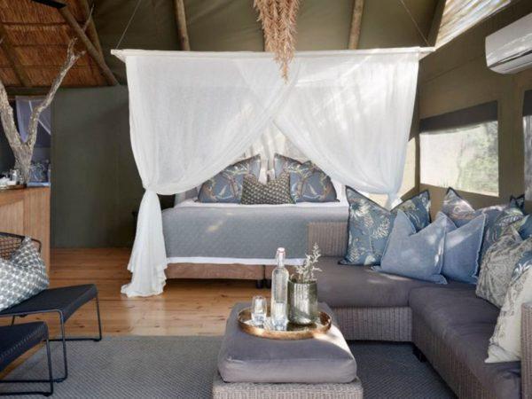 Victoria Falls River Lodge Luxury Family Tent