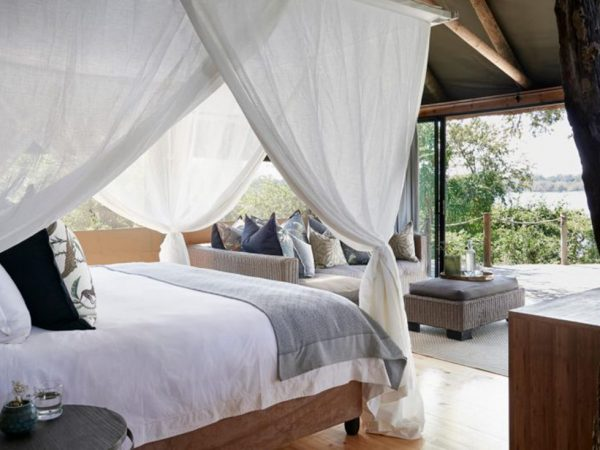 Victoria Falls River Lodge Luxury Tent