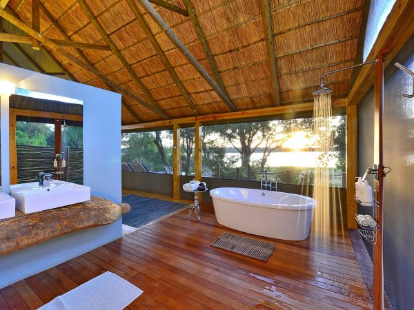 Victoria Falls River Lodge Luxury Tent Bathroom