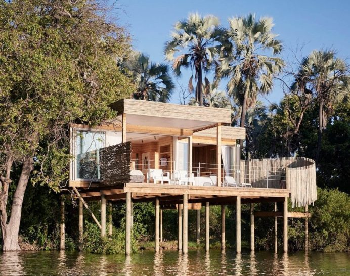 Victoria Falls River Lodge Luxury Treehouse Suites
