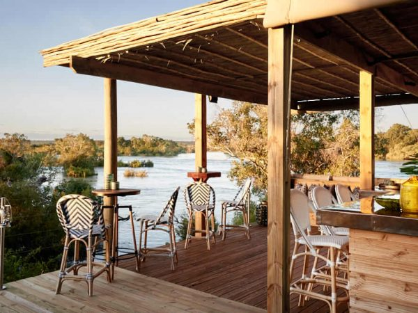 Victoria Falls River Lodge Luxury Treehouse Suites Sunset Bar