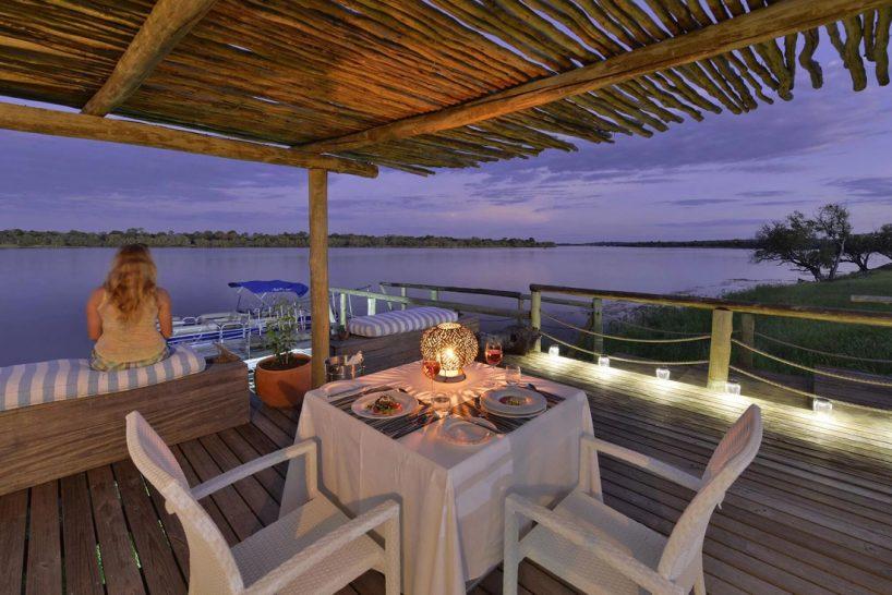 Victoria Falls River Lodge Private Dining