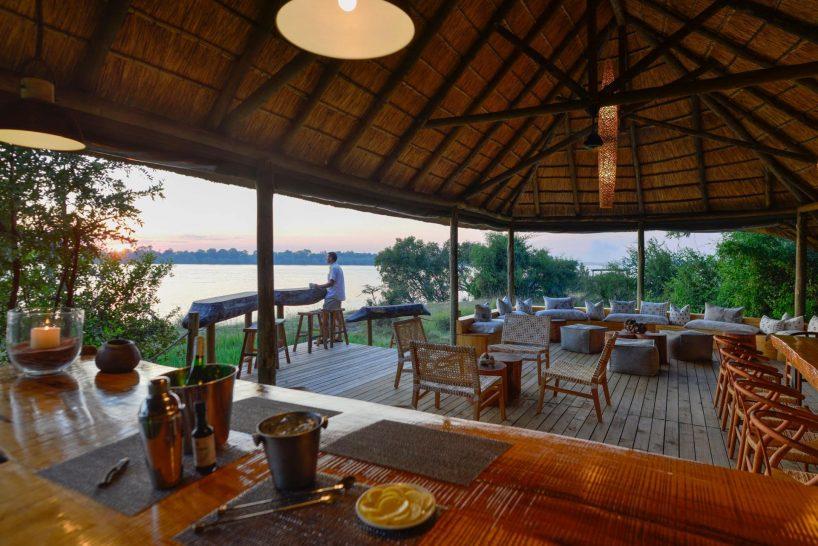 Victoria Falls River Lodge Riverside Bar