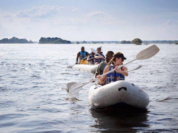 Victoria Falls River Lodge Zambezi Canoe Safaris
