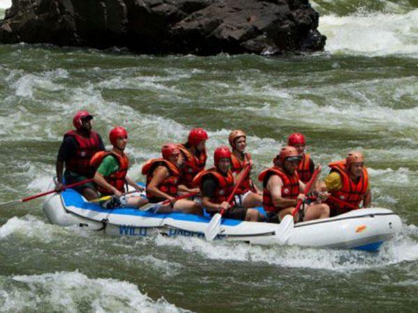 Victoria Falls River Lodge Zambezi River Rafting