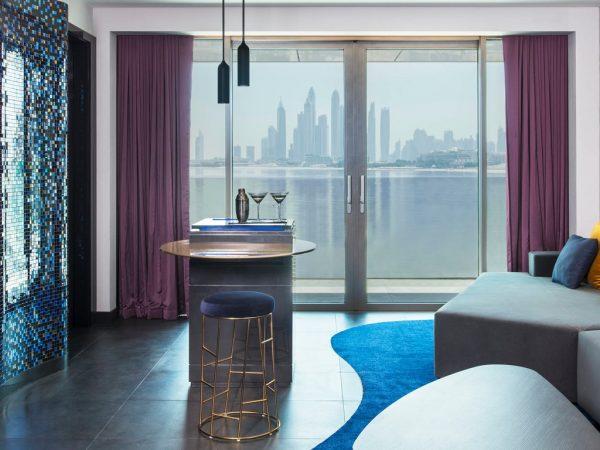 W Dubai The Palm W Suite 1 Bedroom Suite, 1 King, Ocean view, Balcony