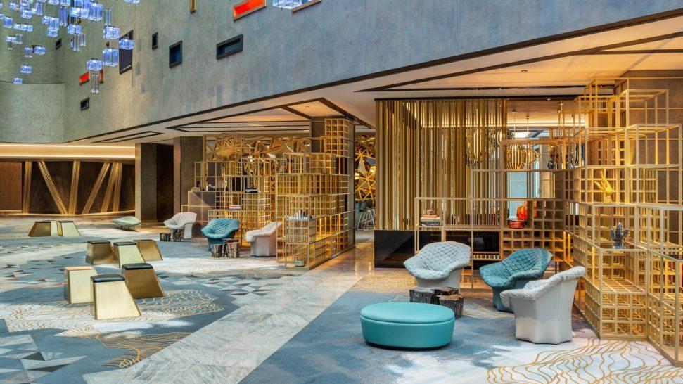 W The Palm Dubai Atrium