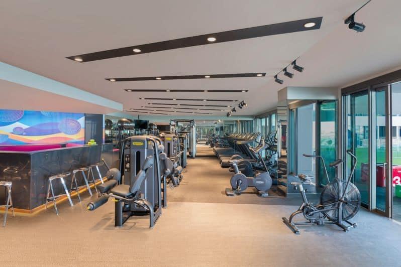 W The Palm Dubai Away Gym