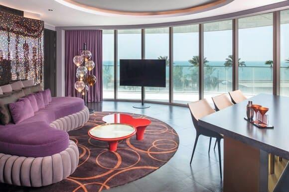 W The Palm Dubai Cool Corner Suite