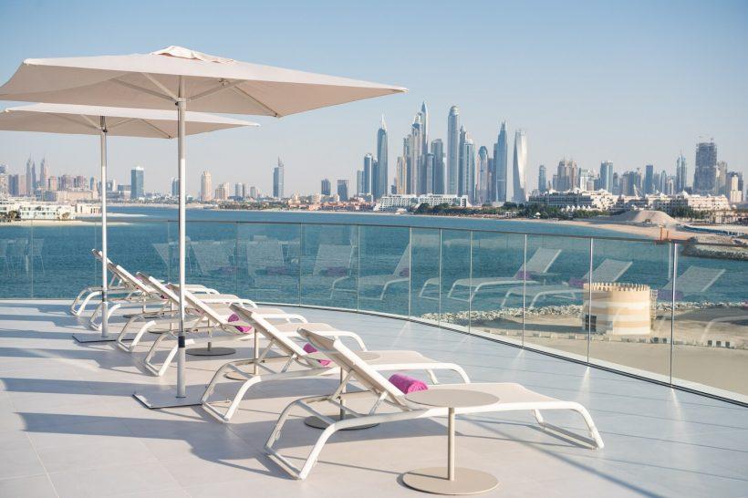 W The Palm Dubai Extreme Wow Suite Terrace