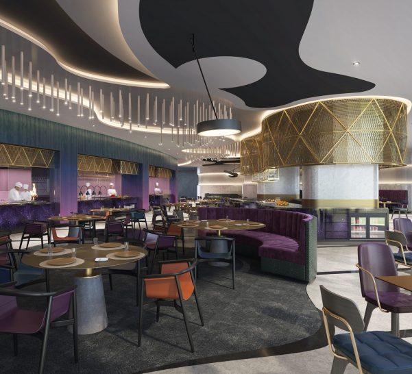 W The Palm Dubai Liv Restaurant
