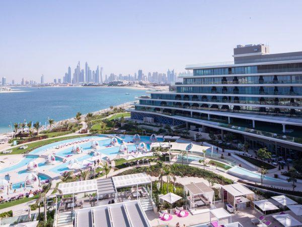 W The Palm Dubai Panorama