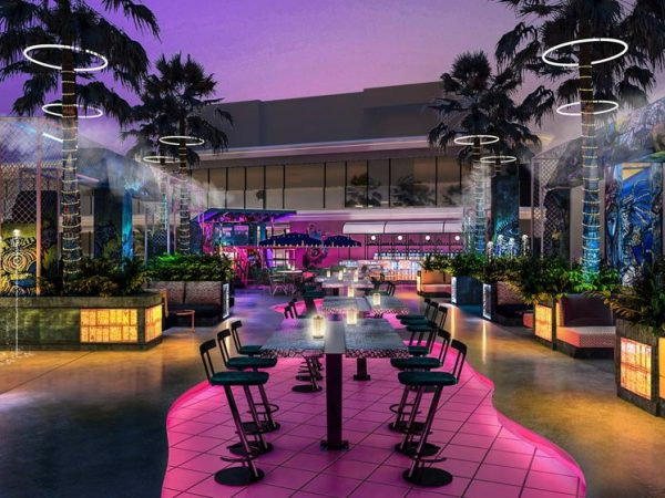W The Palm Dubai SoBe Lounge